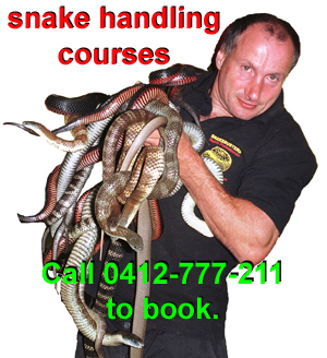 Snake catching courses